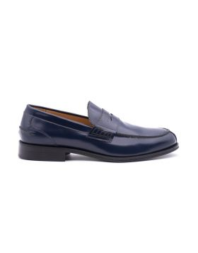 Men's moccasin in leather sole leather