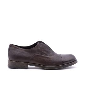 Men's Slip on  in hand-aged leather