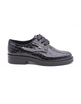 Women's Derby leather print cocco