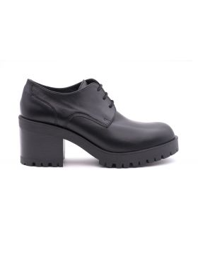 Patent Women's Derby in leather