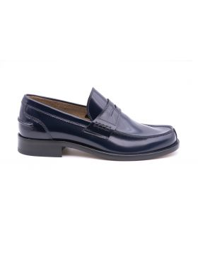 Mocassin Man in Leather Sole Leather