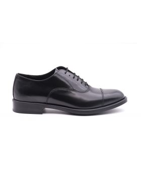 Mens Oxford in shiny leather