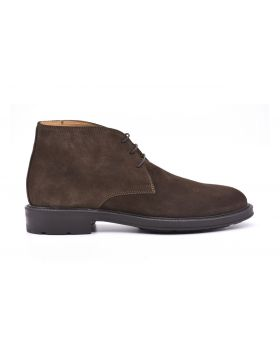 SUEDE MAN ANKLE BOOT RUBBER SOLE-NTL