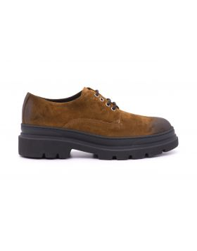 MEN'S SHOES SUEDE WITH RUBBER SOLE