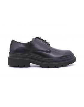 MEN'S SHOES CALF WITH RUBBER SOLE