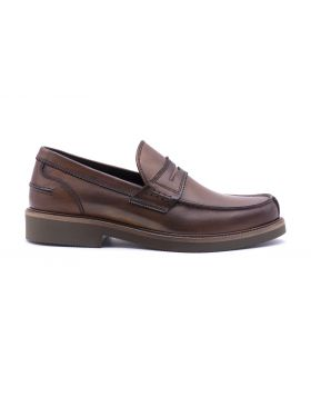 MEN'S PENNY LOAFER WITH EXTRA LIGHT RUBBER SOLE